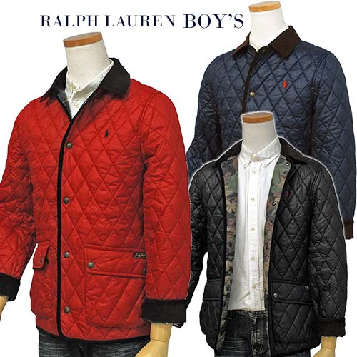 POLO Ralph Lauren Boy'sケンプトン キルトジャケット【2018-Fall/NewModel】ラルフローレン キルトジャケット