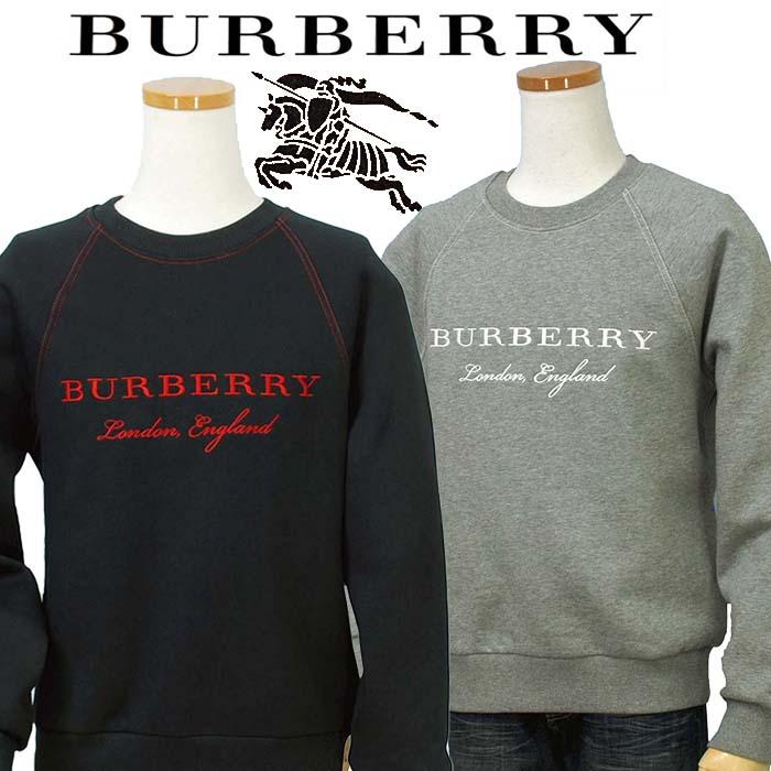 【全商品15%OFFクーポン】BURBERRYバーバリーMen'sロゴ刺繍 トレーナーBURBERRY Prorsum英国 直輸入商品 送料無料