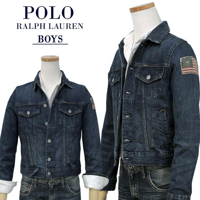 【全商品10%OFFクーポン】POLO by Ralph Lauren Boy's定番デニムジャケット【2020-Fall/Model】ラルフローレン デニムジャケット送料無料