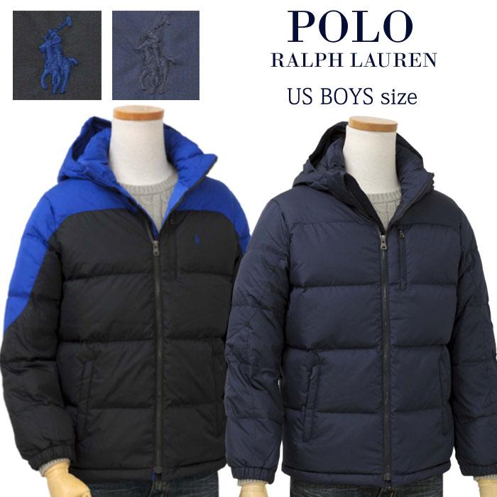 【全商品10%OFFクーポン】POLO by Ralph Lauren Boy'sフード付 ダウンジャケット【2019-Fall/NewModel】ラルフローレン ダウンジャケット