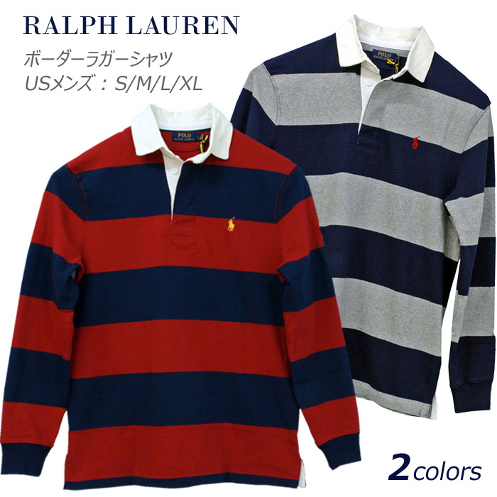 POLO by Ralph Lauren Men's長袖ラガーシャツ【2019-Spring/NewModel】XL,大きいサイズ ラルフローレン ラガーシャツ【送料無料】