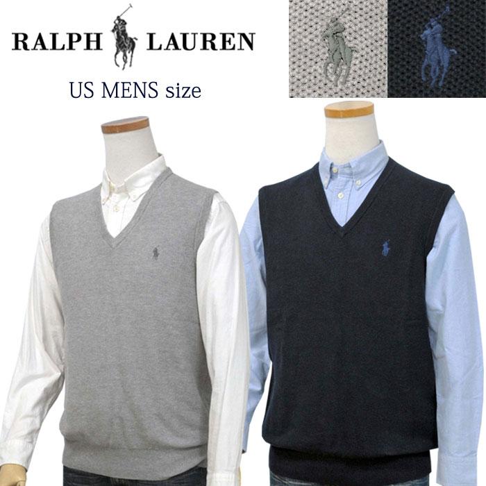 POLO by Ralph Lauren Men'sピマコットン 鹿の子ベストXL,大きいサイズ ラルフローレン ベスト【2019-Fall/NewColor】【送料無料】