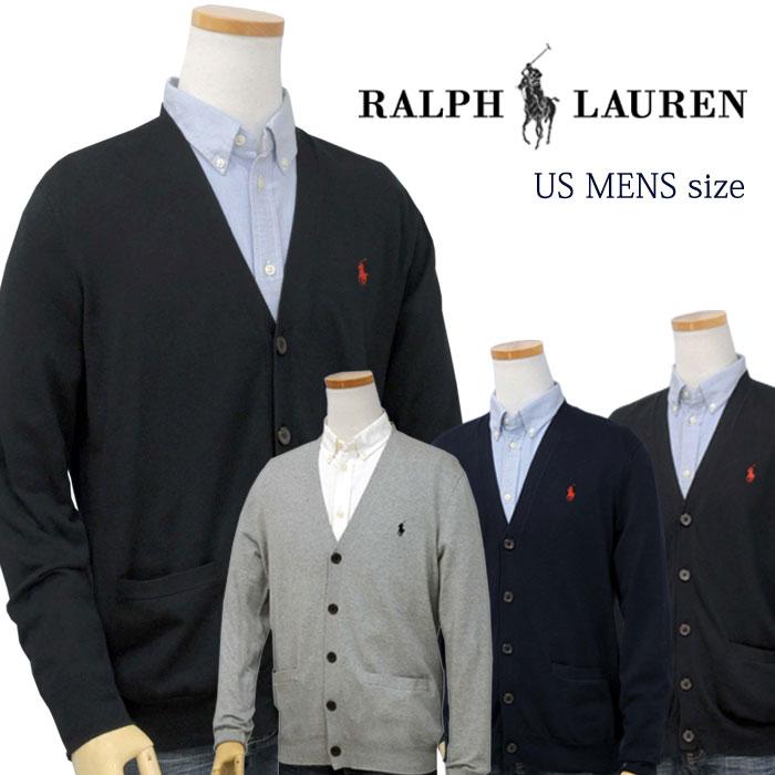 【全商品10%OFFクーポン】POLO by Ralph Lauren Men'sピマコットン カーディガンXL,大きいサイズ ラルフローレン カーディガン【2019-Fall/NewColor】【送料無料】
