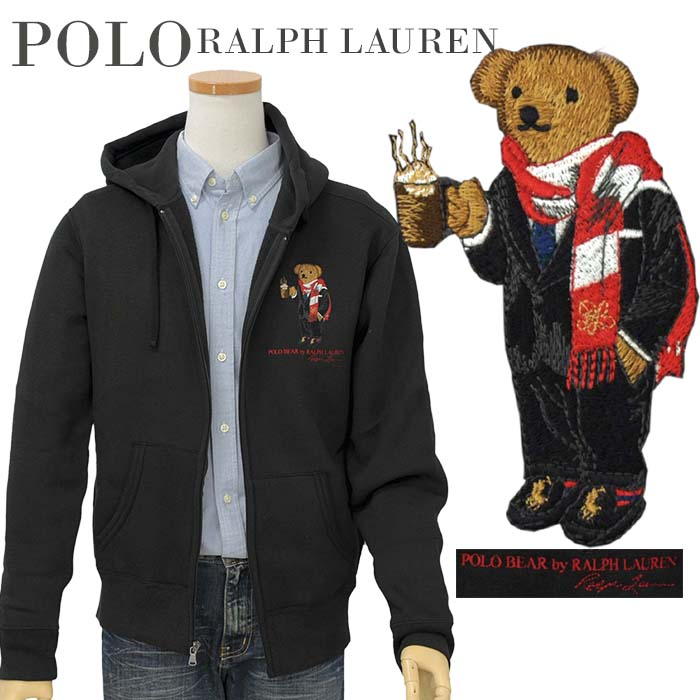 POLO by Ralph Lauren Men'sポロベアー フルジップパーカー【2019-Fall/NewModel】【ポロベアーパーカー】【送料無料】