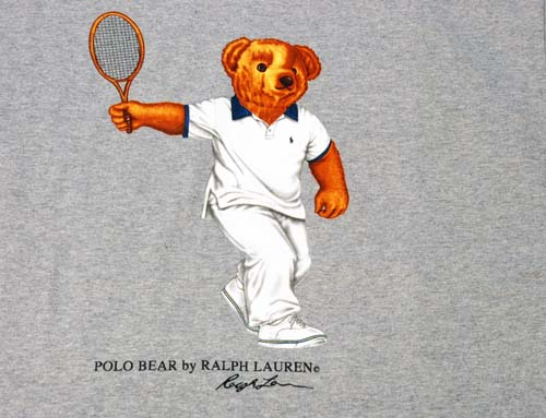 POLO by Ralph Lauren POLO BEAR 폴로 베어 테니스 반소매 T셔츠