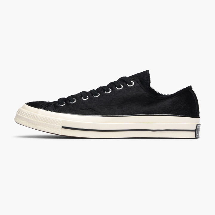 Cheek by Jowl | Rakuten Global Market: CONVERSE / Converse sneakers Chuck Taylor All Star 70s Ox / zipper Taylor all-stars 157656C pony hair black