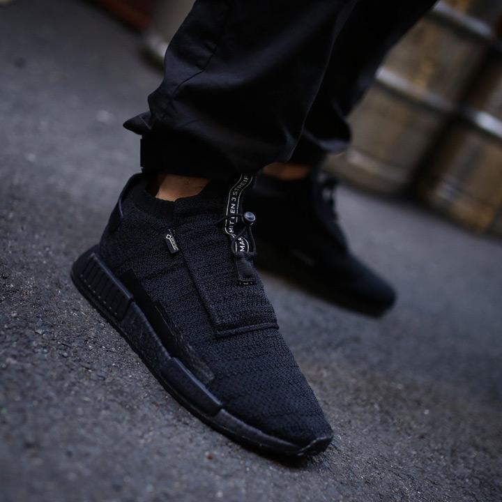 fb18f12b49691 ADIDAS   Adidas sneakers NMD TS1 PK GTX   nomad Gore-Tex prime knit AQ0927  black