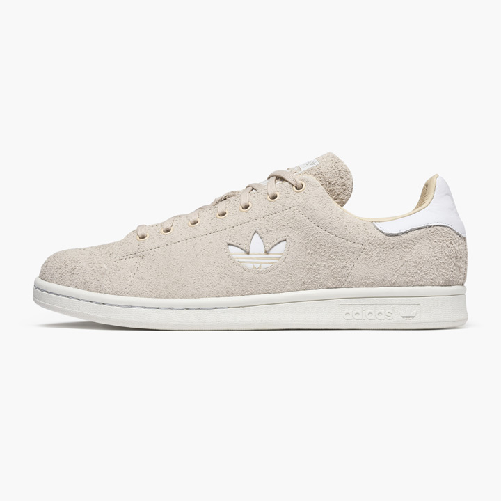 lowest price 7ae8f 52cc7 ADIDAS / Adidas sneakers STAN SMITH / Stan Smith B37903 suede linen white