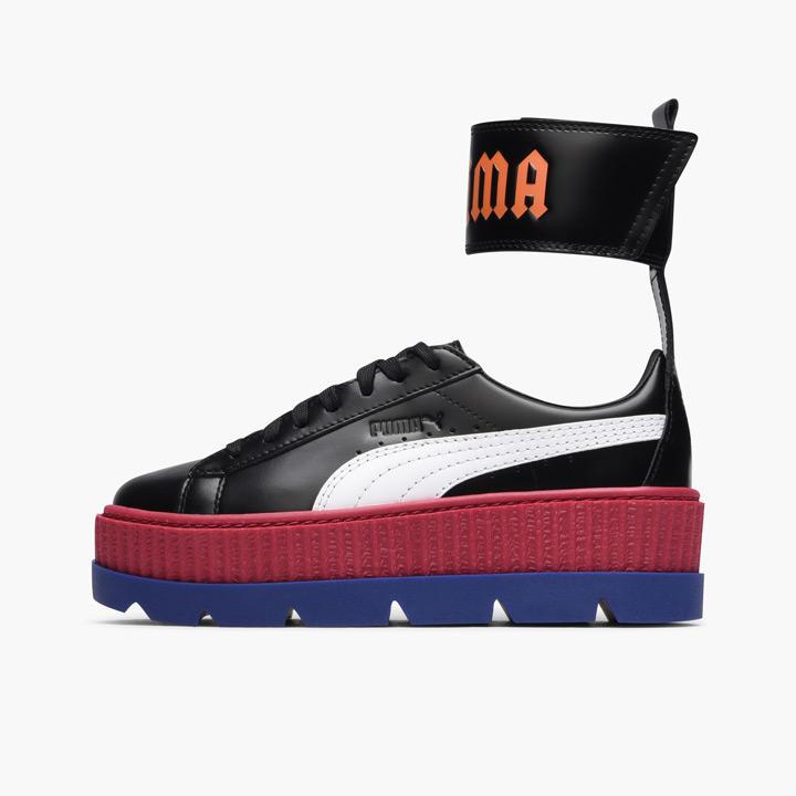 the latest 991cb 4ce6d FENTY PUMA by Rihanna / フェンティプーマバイリアーナアンクルストラップスニーカー Wmns Ankle Strap  Sneaker 366,264-01 black X multicolored