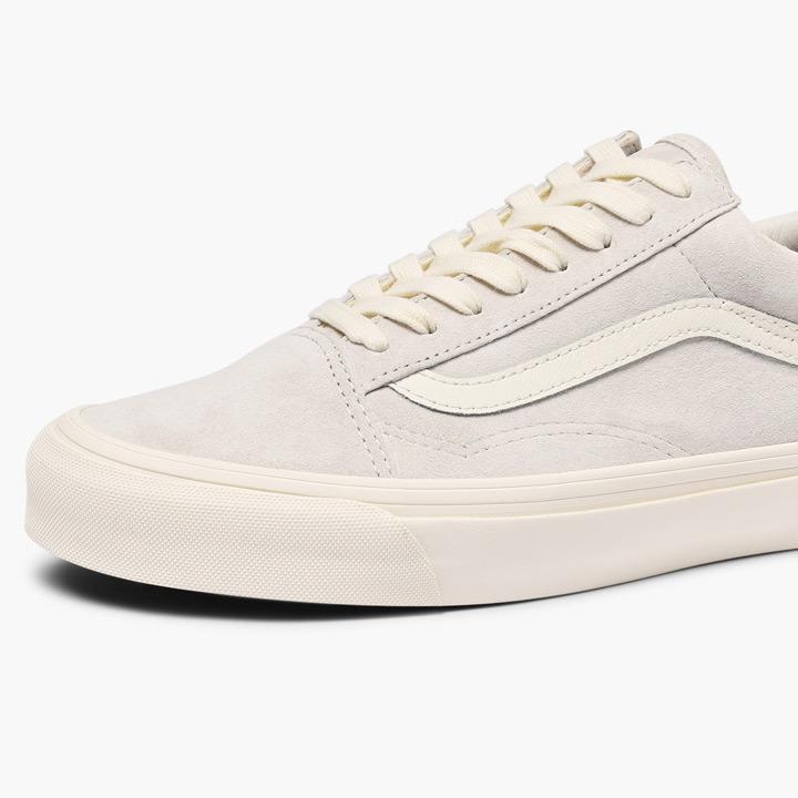 VANS VAULT vans bolt sneakers OG OLD SKOOL LX old school VN0A36C8UN5 suede marshmallow white