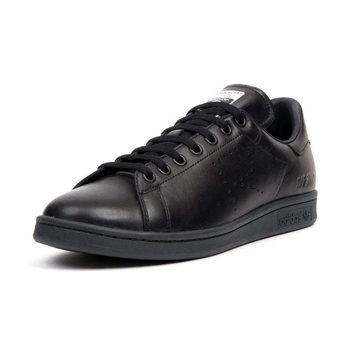 910d78282a550b ADIDAS X Raf Simons   Adidas X rough Simmons sneakers STAN SMITH   Stan  Smith B22545 black