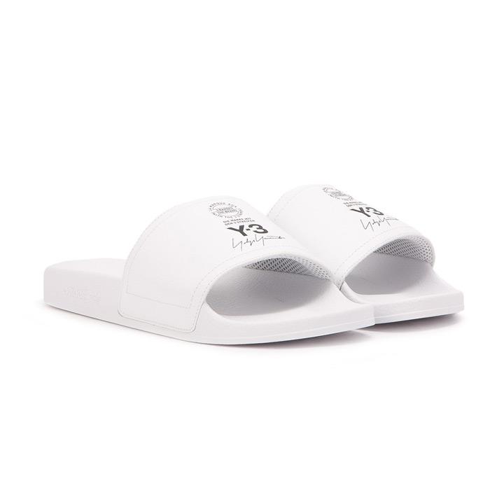 3d6b9856aab4 ADIDAS X Y-3   Adidas X Weiss Lee sandals ADILETTE   アディレッタ AC7524 white