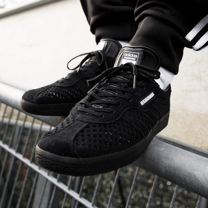 wholesale dealer 3ac3e 2fcc6 ADIDAS X NEIGHBORHOOD / Adidas X Ney bar Hood sneakers GAZELLE SUPER NBHD /  gazelle DA8836 black