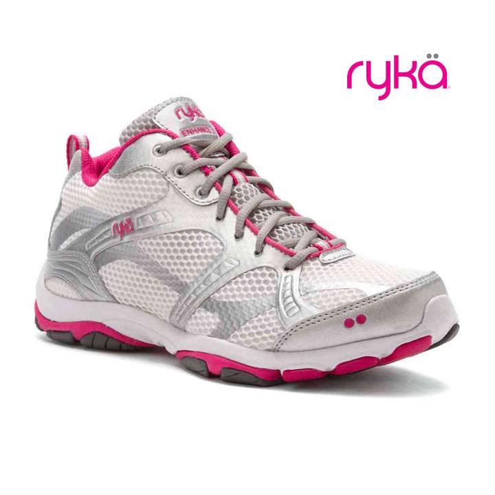 RYKA / ライカ フィットネスシューズ ENHANCE2 / エンハンス2 C8196M-3100 ホワイト×ピンク