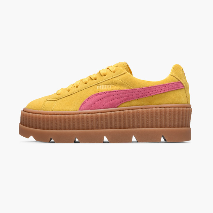 innovative design 6fd01 7e7aa FENTY PUMA by Rihanna / フェンティプーマバイリアーナスニーカー Wmns Cleated Creeper / chestnut  ray Ted creeper suede 366,268-03 yellow