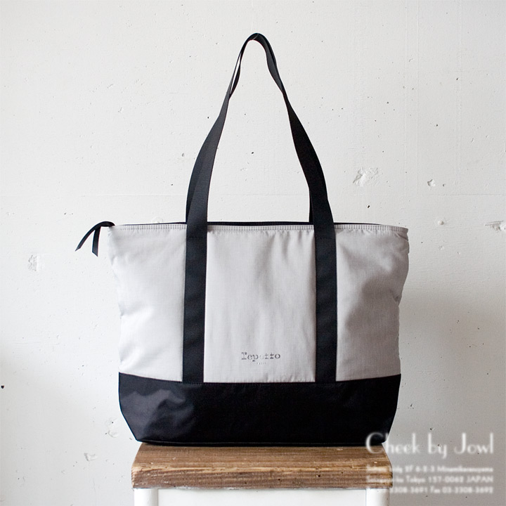 repetto / レペット トートバッグ BOOTS TOTE ライトグレー