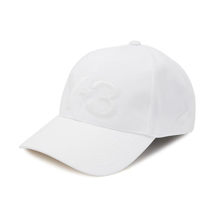 Y-3 / ワイスリー ADIDAS x Yohji Yamamoto / アディダス×ヨージヤマモト LOGO CAP / ロゴキャップ 帽子 DY9345 ホワイト