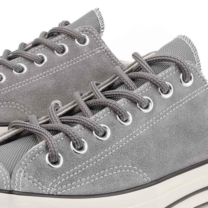 965143cd77e2 CONVERSE   Converse sneakers Chuck Taylor All Star 70s Ox   zipper Taylor  all-stars CT70 162376C suede Mason gray