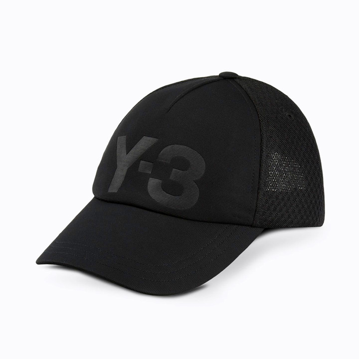 Y-3 / ワイスリー ADIDAS x Yohji Yamamoto / アディダス×ヨージヤマモト TRUCKER CAP / トラッカーキャップ 帽子 CD4748 ブラック