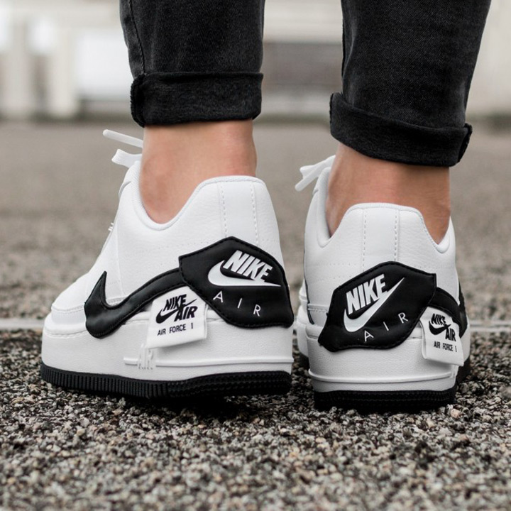 NIKE Nike sneakers WMNS AF1 JESTER XX women air force 1 Jester AO1220 102 white X black