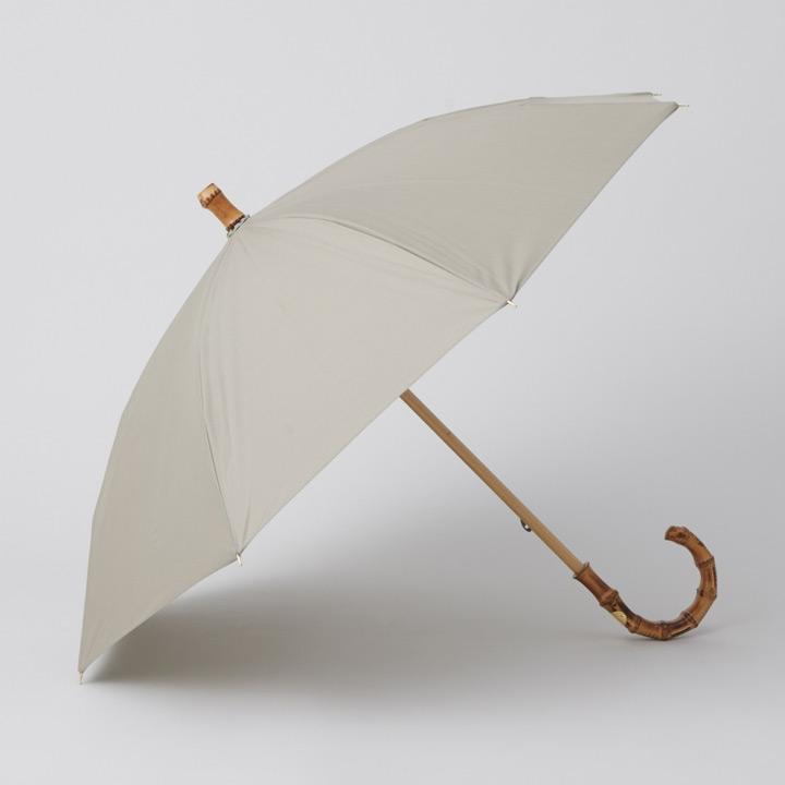 Traditional Weatherwear / トラディショナルウェザーウェア 晴雨兼用長傘 UMBRELLA BAMBOO GOLD ライトセージ