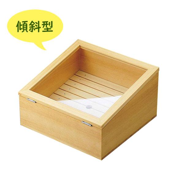 【送料無料】 ネタ箱傾斜型 目皿 アクリル蓋付 寿司屋 握り パーティー ヤマコー