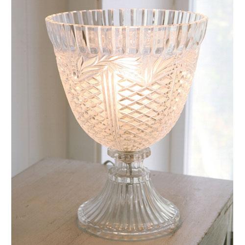 マディソンガラスランプ Φ20×高さ26cm コベントガーデン
