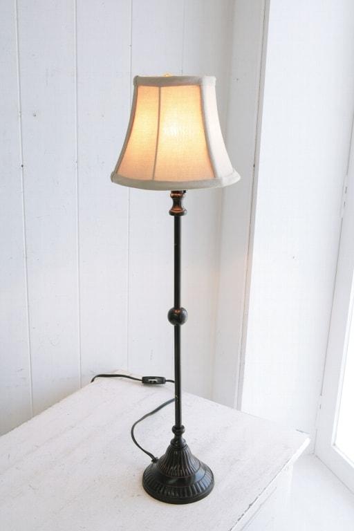 アンティーク風 雑貨 テーブルランプ アンティーク インテリア ライト 照明 【ノアール・シェードランプ】コベントガーデン