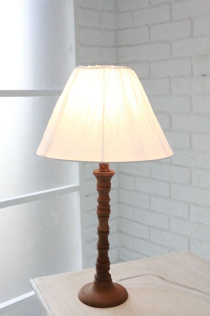 アンティーク風 雑貨 テーブルランプ アンティーク インテリア ライト 照明【フラフィー・シェードランプ】コベントガーデン