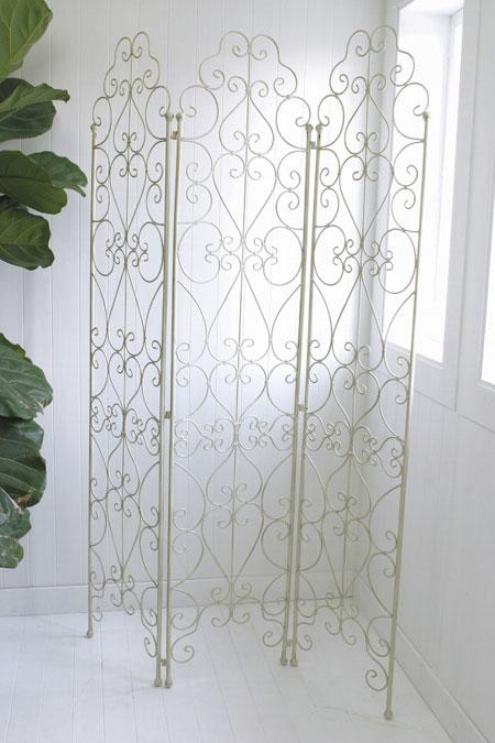アンティーク風 雑貨 コベントガーデン カディスフォールドスクリーン アンティークパーテーション 巾120×奥行1.3×高さ185cm