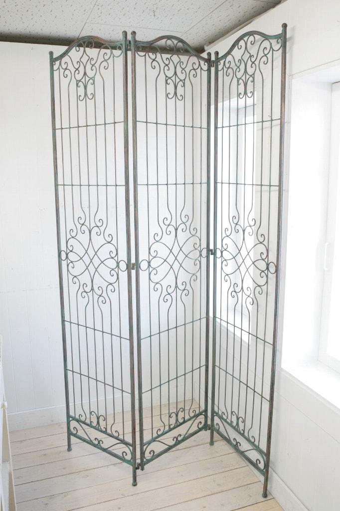 アンティーク風 雑貨 コベントガーデン クレンジャンススクリーン アンティークパーテーション 巾98×奥行33×高さ182cm