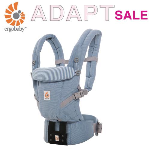 エルゴ 抱っこ紐 アダプト (アズールブルー) 出産祝い ベビー 男の子 女の子 人気 0ヵ月~3歳 新生児