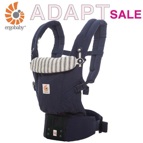 【日本正規品】エルゴ アダプト (アドミラルブルー) ベビー 抱っこ紐  男の子 女の子 0ヵ月~3歳 出産祝い 人気