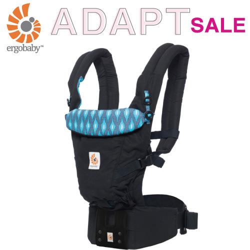 日本限定モデル エルゴ アダプト (アクアイカット)  日本正規品 抱っこ紐 男の子 女の子 0ヵ月~4歳 出産祝い ギフト 人気