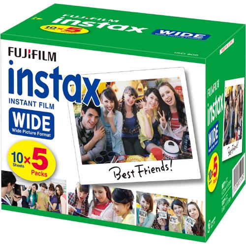 FUJIFILM インスタックスワイドフィルム100枚 (5Px2)