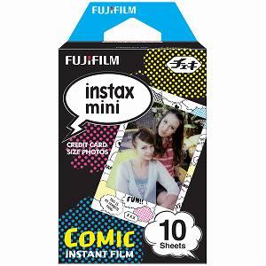 【60個セット600枚】FUJIFILM チェキ用絵柄フィルム コミック INSTAX MINI COMIC WW 1