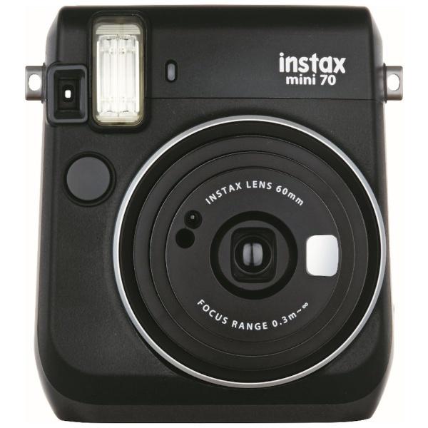 富士フィルムチェキ instax mini70N ブラック