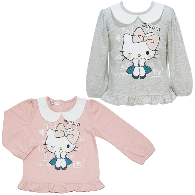 014bce8a08c8 Baby market  Long sleeves T-shirt with the HELLO KITTY Hello Kitty ...