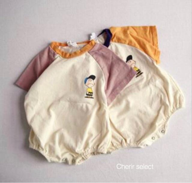 送料無料 即日発送 おすすめ商品 メーカー再生品 ベビーロンパース 赤ちゃん 韓国子供服 ベビー服 Tシャツ ロンパース ドルマンスリーブ バイカラー 80 夏服 70 出荷 0歳 1歳 ラッピング対応可 90