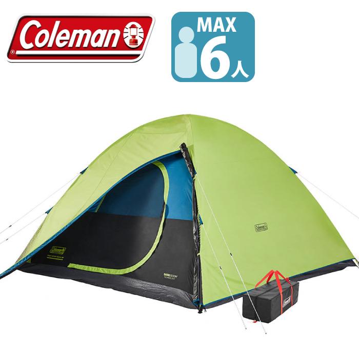 テント コールマン 6人用テント ダークルーム タフドーム インスタント ドーム 5人用テントDark room TENTグランピング テント 専用収納バッグ付き Coleman, ヒカリマチ 181aa0f2