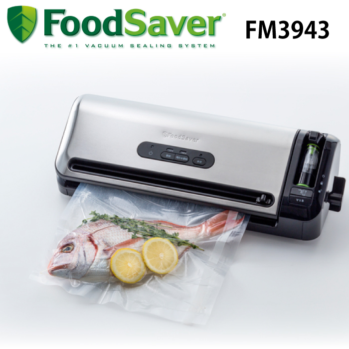 フードセーバー FM3943 スターターセット 真空保存 真空パック 真空ロール 真空ボックス 真空ボトルストッパー フードシーラー 調理 キッチン FoodSaver