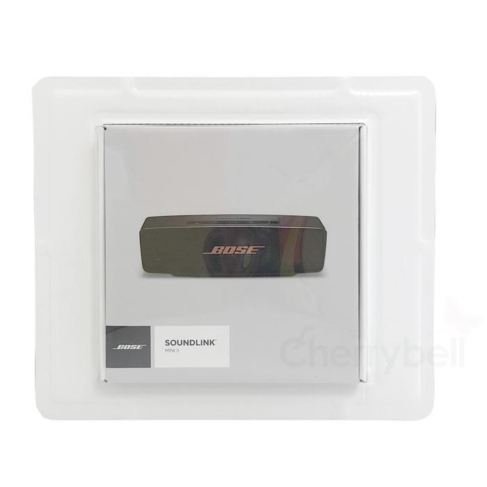 Portable wireless speaker carbon Bose SoundLink Mini Bluetooth speaker II