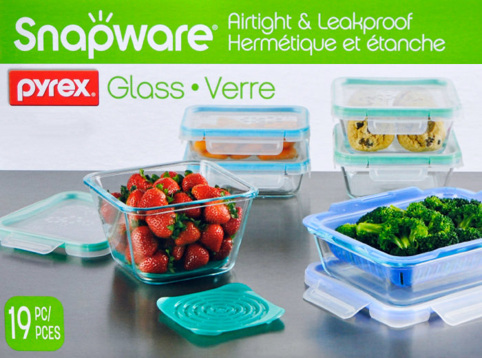 Is Microwave Safe Snapware Food Container 19 PC Set. Eight Sets In All Five  Types Of Storage Containers, So Room To Suit Your Requirements.