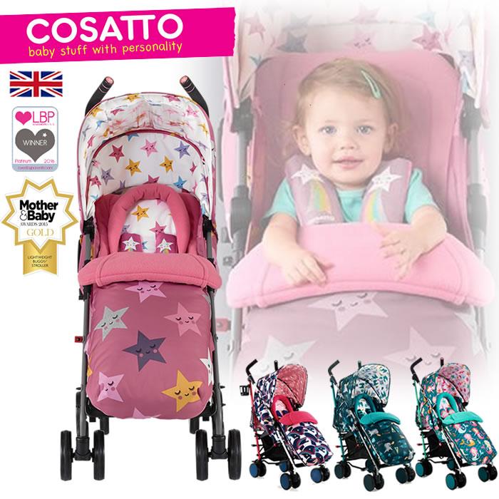 イギリス★新生児から★フルリクライニングイギリス COSATTO コサット  シングルベビーカー supa スパ ★ベビーカー 新生児から