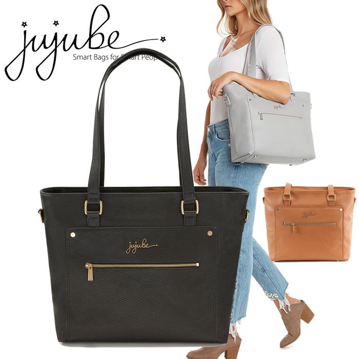 ヴィーガンレザー トートバッグ Tote bag jujube ジュジュビ エバーコレクション エブリディトート everydaytote(ビュリュレ)(ノワール)