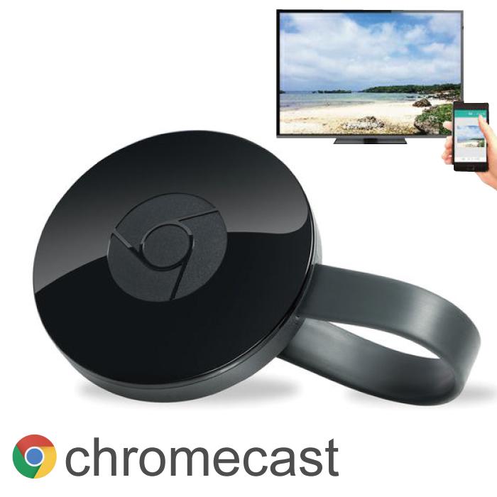 google chromecast2 グーグル クロムキャスト2 google chromecast クロームキャスト TVに接続 HDMI ストリーミング 音楽 動画 映像 携帯の映像を写せる