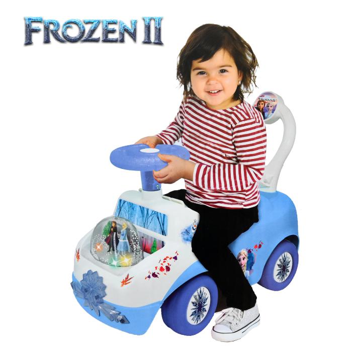 楽しい音がなる ディズニー乗用玩具 アナ雪 アナと雪の女王2 オンラインショップ 乗用玩具 ライドオン ディズニー 全国どこでも送料無料 自動車 12か月~ 足けり ディズニーライドオン Disny 手押し車 プリンセス DISNEY