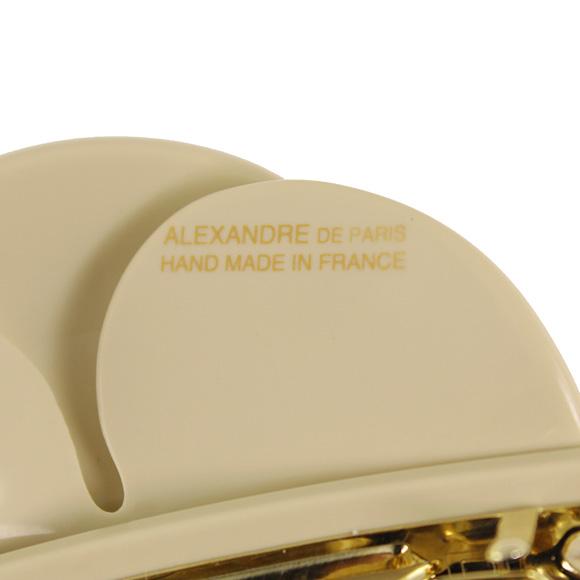 ALEXANDRE DE PARIS/아레크산드르두파리바렛타 CAMELIA PIQUETE [거북이 리어 피케]스몰 베이지×블랙 AA6-14797-02 S-BEIGE