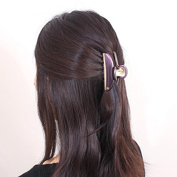 亚力山大巴黎巴黎亚历山大发夹深紫色化管大会-15571-02 TN TYUPE 彩虹