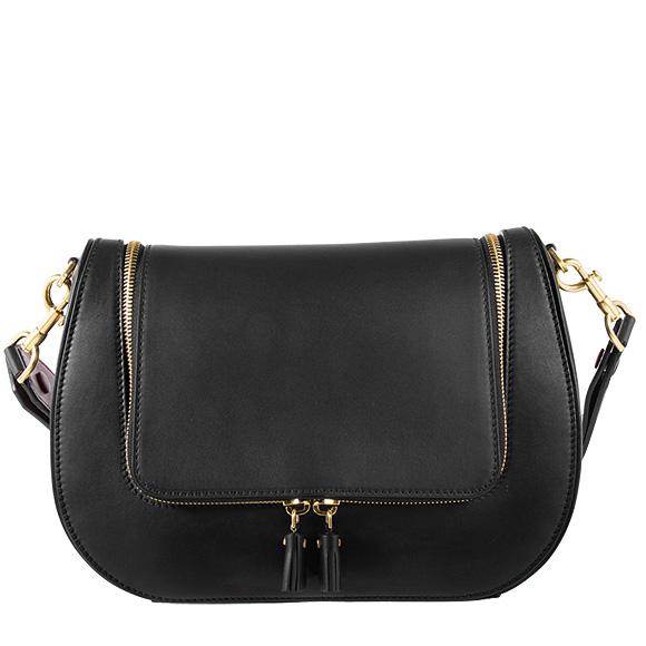 アニヤハインドマーチ Anya Hindmarch Bag Lady 2way Handbag Black Red Vere Satchel 5050925926843 926843